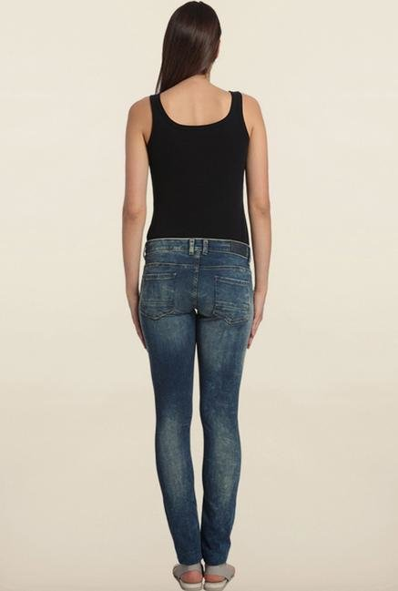 Vero Moda Blue Denim Skinny Fit Jeans