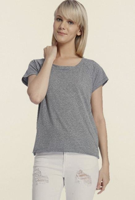 Vero Moda Grey Solid Top