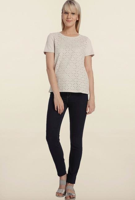 Vero Moda Moonbeam Short Sleeve Top