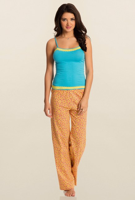Pretty Secrets Yellow Floral Pajama