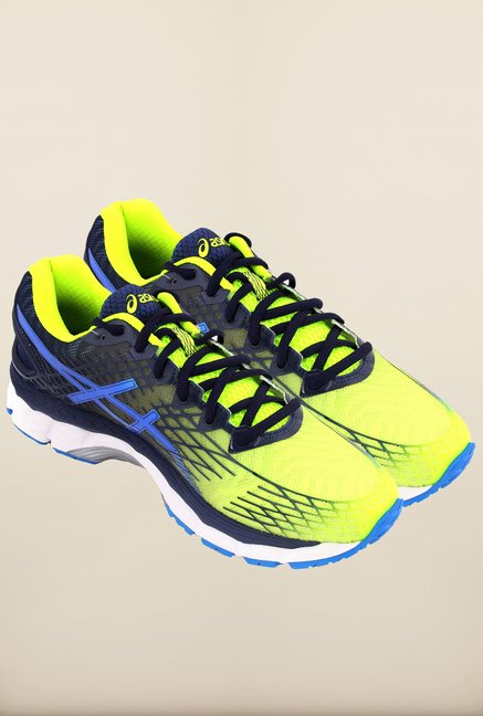 Asics Flash Yellow Running Shoes