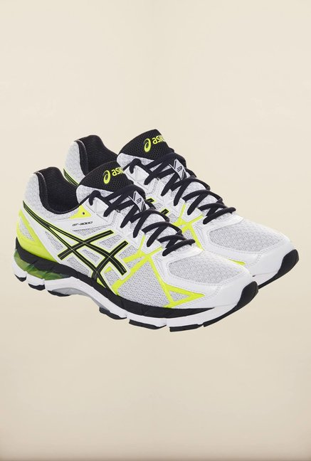 Asics White Running Shoes