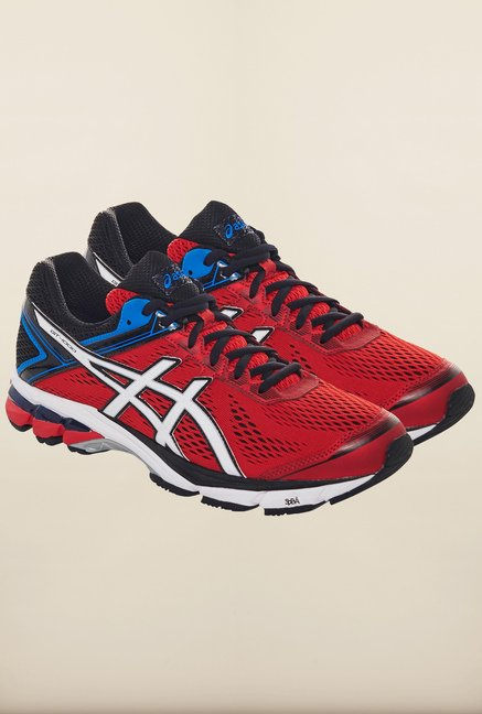 Asics Fiery Red Running Shoes