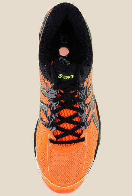 Asics Hot Orange Running Shoes