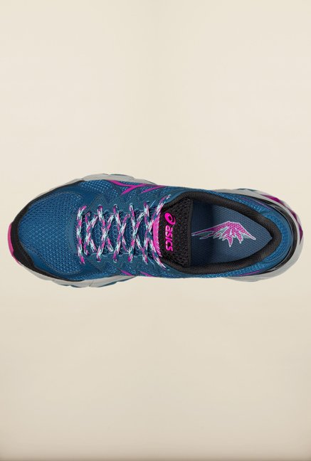 Asics Mosaic Blue Running Shoes