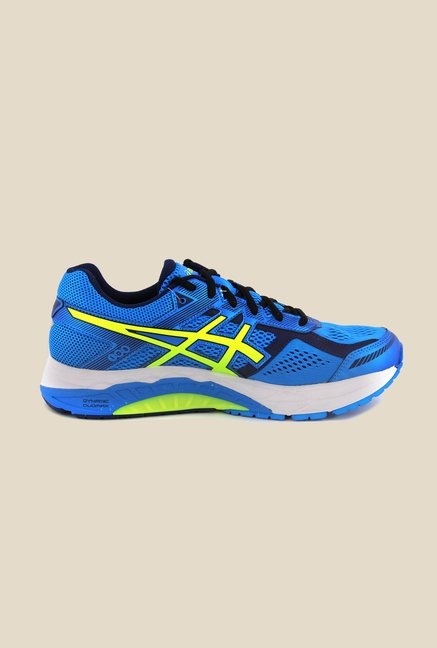 Asics Electric Blue Running Shoes