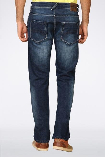 Provogue Dark Blue Slim Fit Jeans