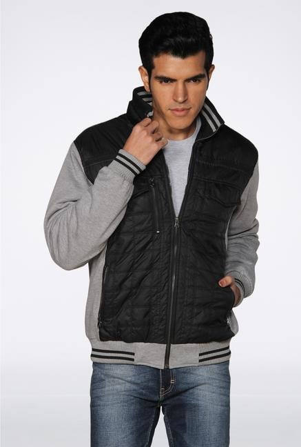 Provogue Black Two Tone Jacket