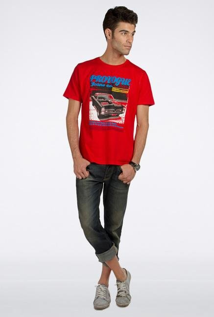 Provogue Red Super Car T-Shirt