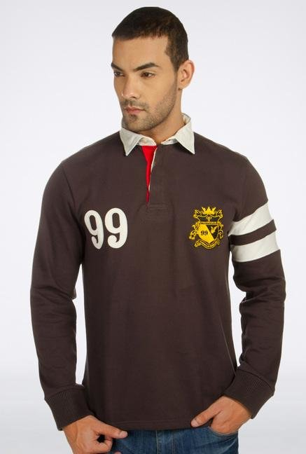 Provogue Brown Hendrick T-Shirt
