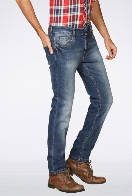 Provogue Light Blue Washed Jeans