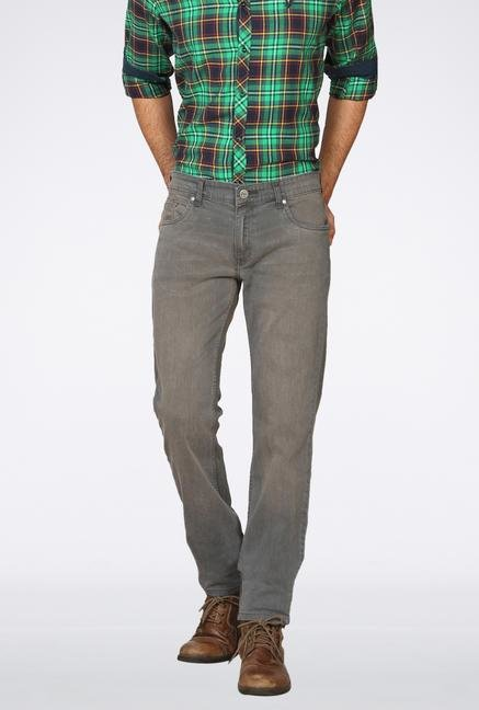 Provogue Grey Slim Fit Jeans