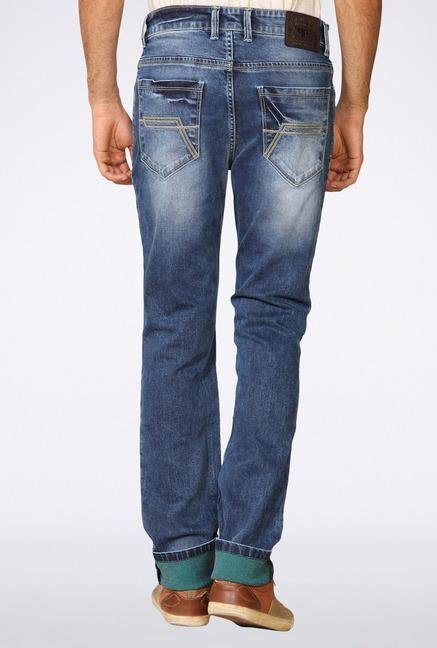 Provogue Blue Ripped Jeans
