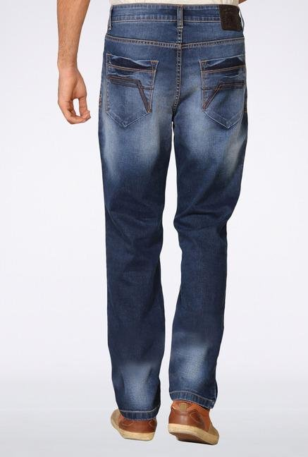 Provogue Blue Mid Rise Jeans