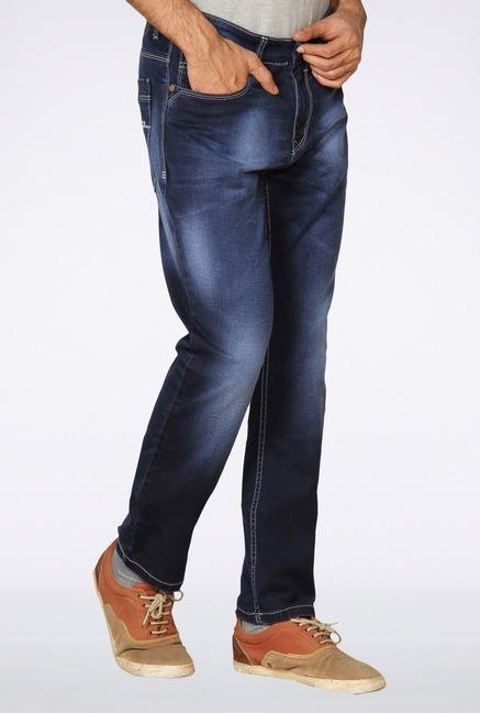 Provogue Blue Feather Jeans
