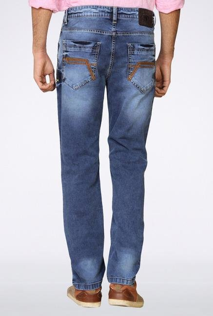 Provogue Blue Light Washed Denim Jeans