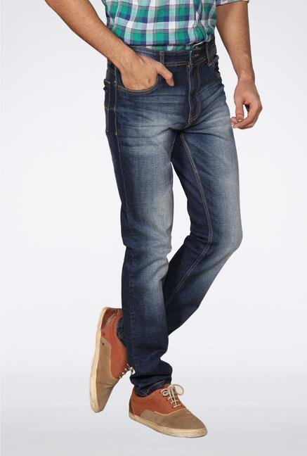 Provogue Blue Washed Jeans