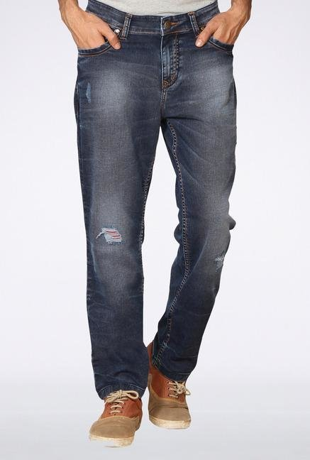 Provogue Blue Distressed Jeans