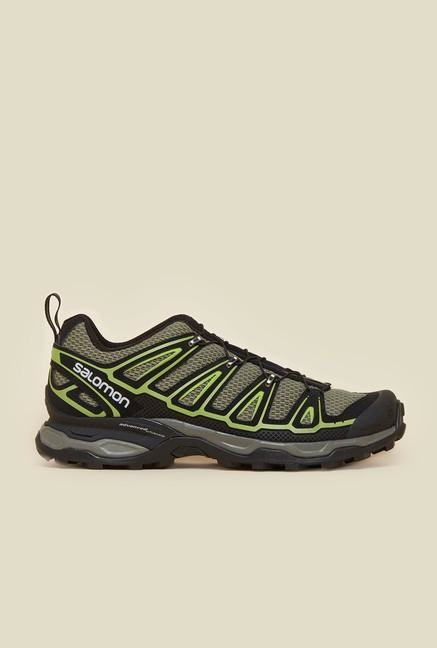 Salomon X Ultra 2 Green Hiking Shoes