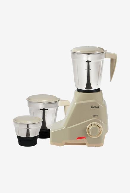 Havells Genie 500 Watt Mixer Grinder Grey