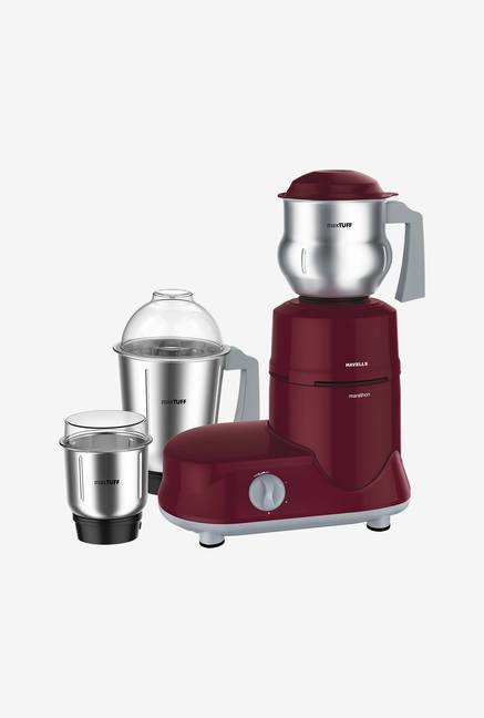 Havells Marathon Haandi 750 Watt Mixer Grinder Red