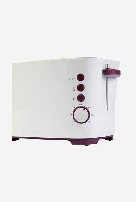Havells Feasto 2 Slice 850 Watt Pop Up Toaster White