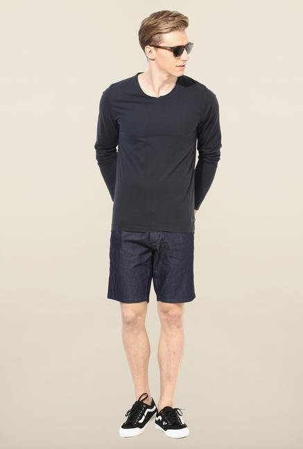 Jack & Jones Black V-Neck T-Shirt