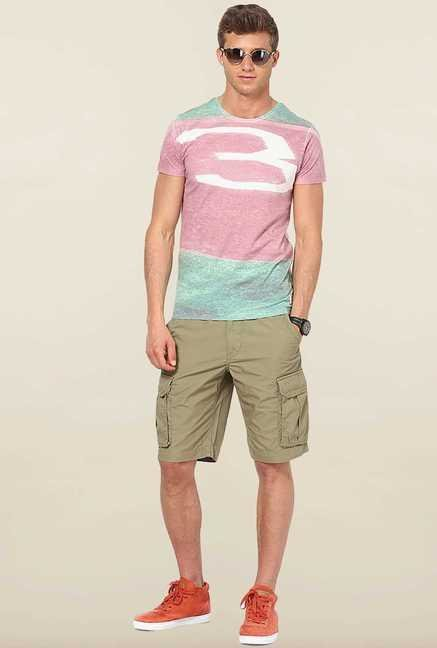 Jack & Jones Multicolor Printed T-Shirt