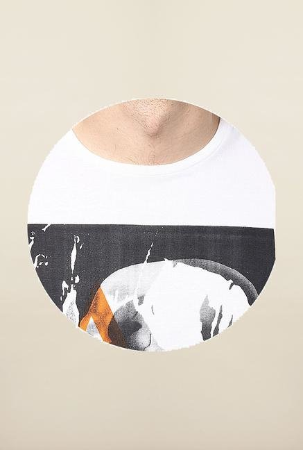 Jack & Jones White Round Neck T-Shirt