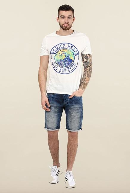 Jack & Jones White Slim Fit T-Shirt