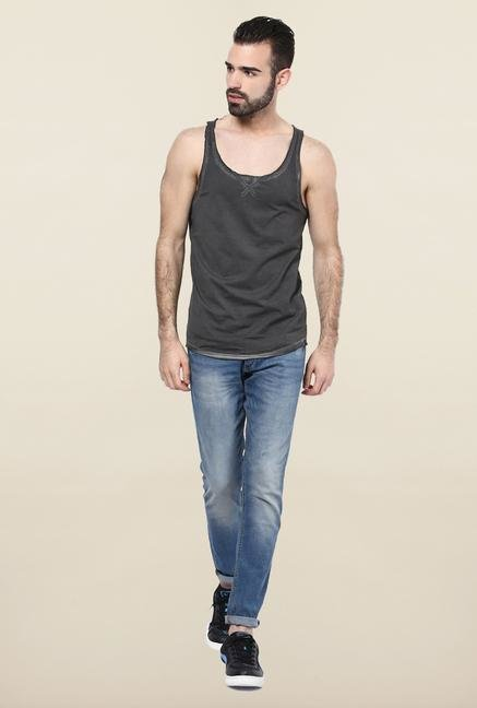 Jack & Jones Dark Grey Solid Vest