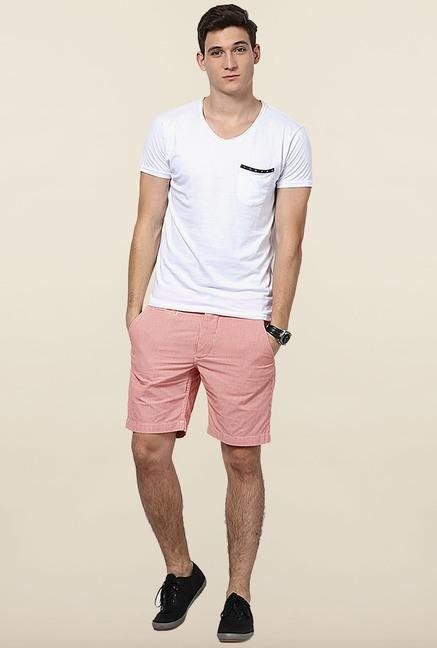 Jack & Jones White V-Neck T-Shirt