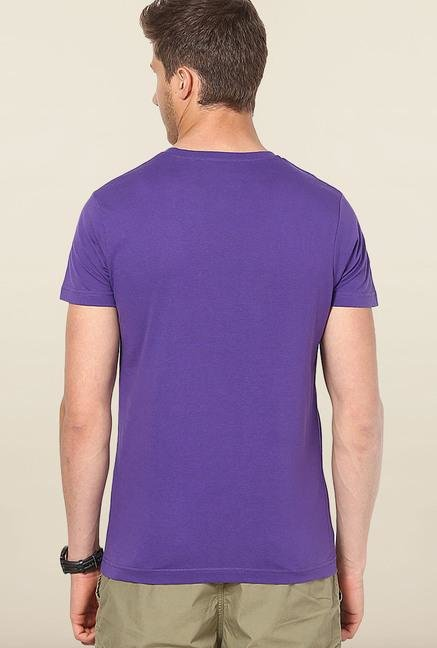 Jack & Jones Violet Printed T-Shirt