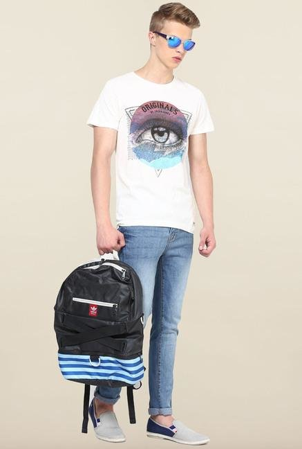 Jack & Jones White Printed T-Shirt