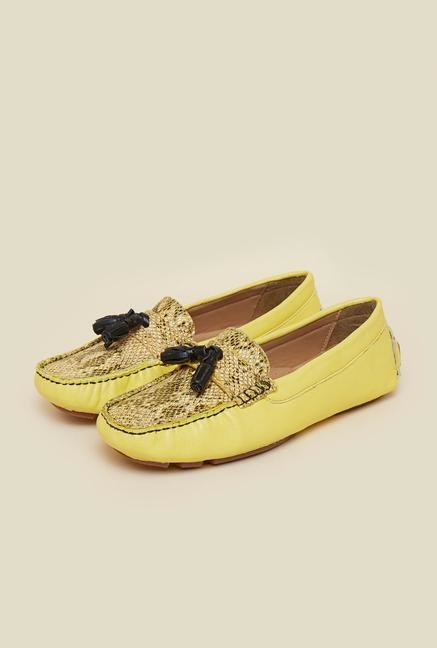 La Briza Yellow Loafers