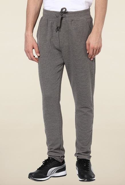 Jack & Jones Grey Cotton Track Pant