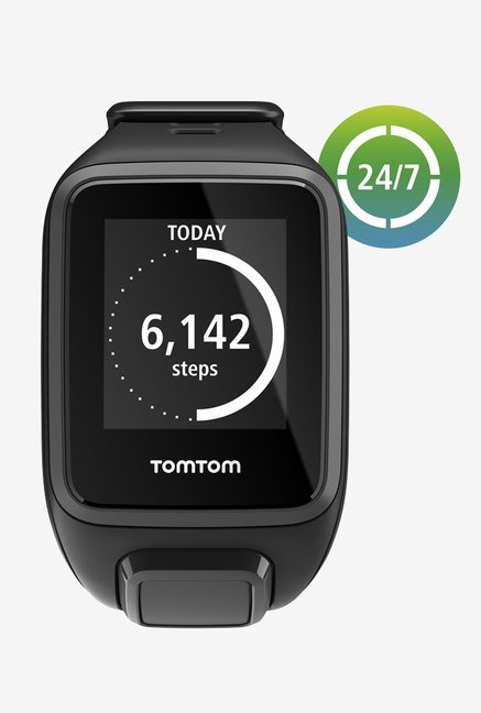 TomTom Spark GPS Fitness Watch Black (Small)