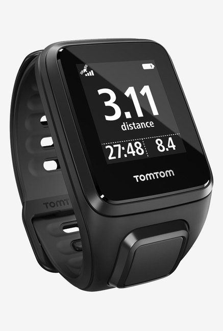 TomTom Spark Music GPS Fitness Watch (Black, Small)
