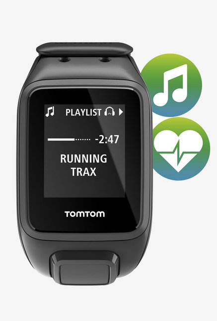 TomTom Spark Music GPS Fitness Watch + Headphones (Large)