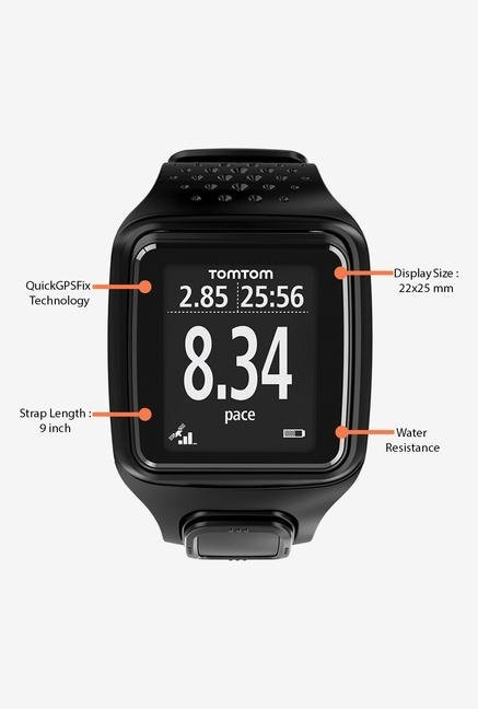 TomTom Runner GPS Sports Watch Black