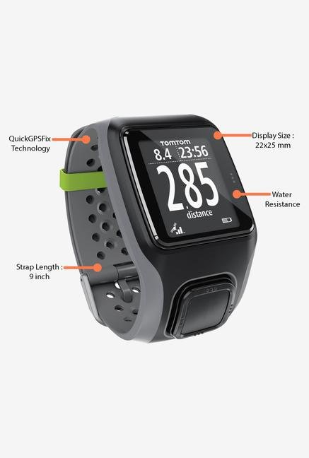 TomTom Multi-Sport GPS Watch Black