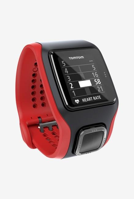 TomTom Runner Cardio GPS Sport Watch Red