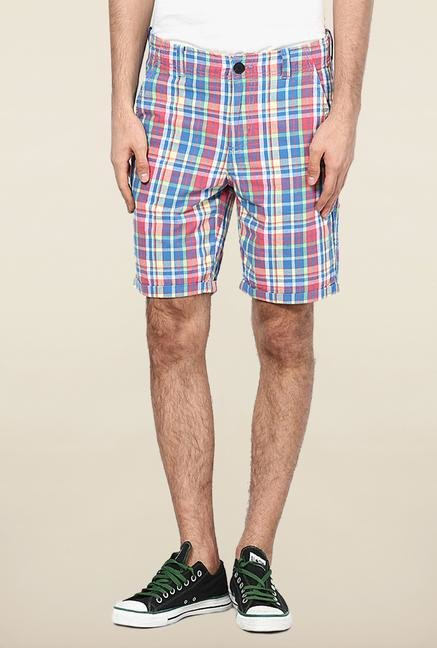 Jack & Jones Multicolor Checks Shorts