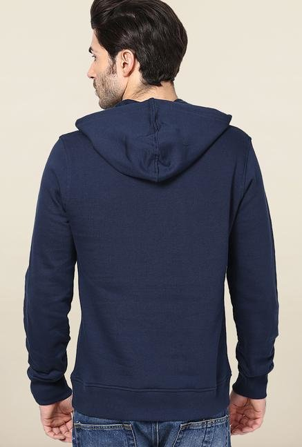 Jack & Jones Navy Graphic Hoodie
