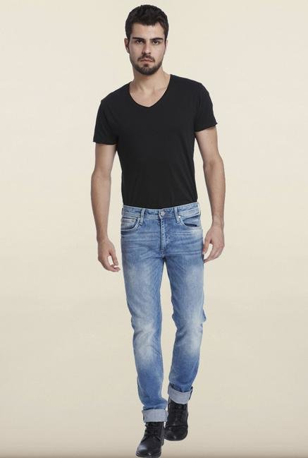 Jack & Jones Denim Blue Slim Fit Jeans