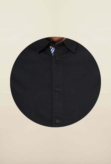 Jack & Jones Black Solid Shirt