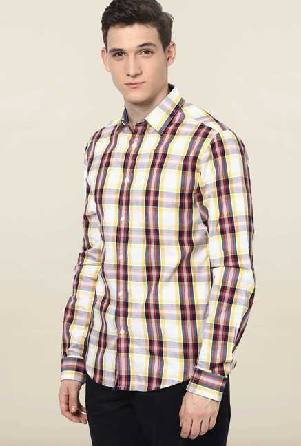 Jack & Jones Multicolor Checks Casual Shirt