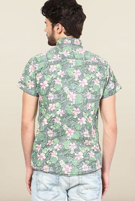 Jack & Jones Multicolor Floral Print Casual Shirt