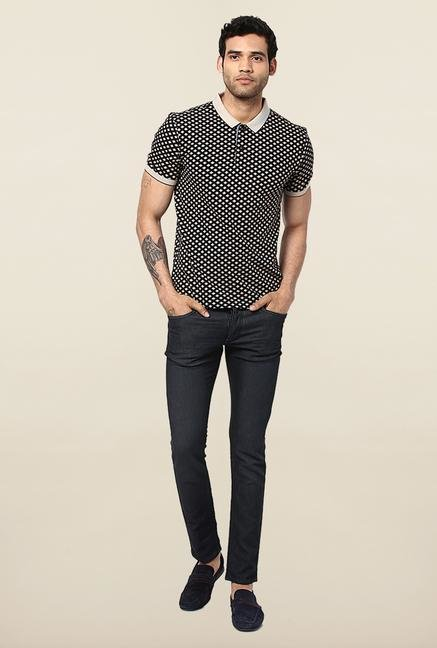 Jack & Jones Black Lightly Washed Slim Fit Jeans