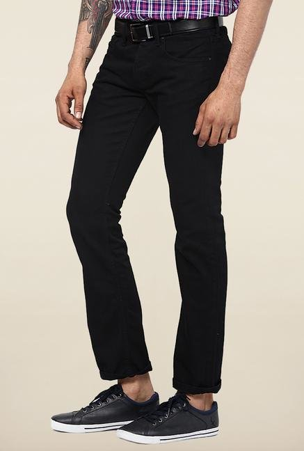 Jack & Jones Black Raw Denim Slim Fit Jeans